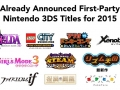 Nintendo First party titles