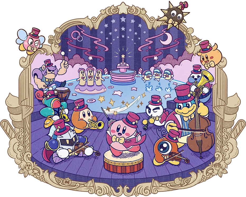 Kirby 25th Anniversary Official Website Open Orchestral