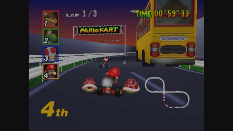 europe mario kart 64 n64 wii u virtual console trailer and screens perfectly nintendo. Black Bedroom Furniture Sets. Home Design Ideas