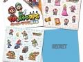 Mario & Luigi Paper Jam Stickers