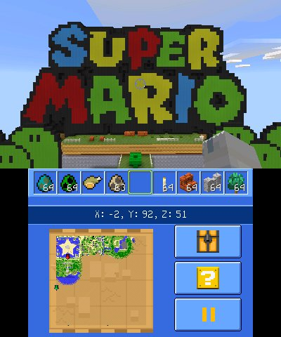 Minecraft: New Nintendo 3DS Edition – Software updates