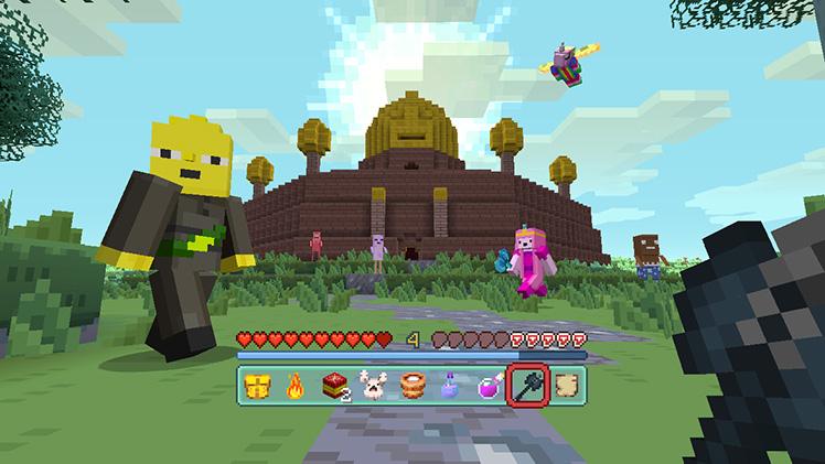 Minecraft Wii U Switch Adventure Time MashUp Pack More DLC - Skins fur minecraft wii u