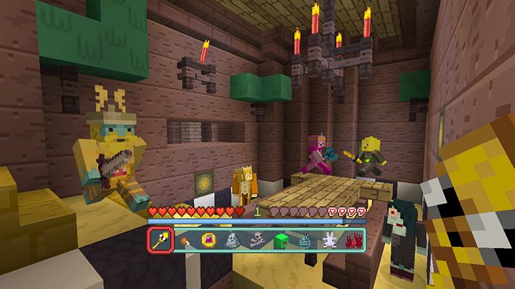 Minecraft (Wii U / Switch): Adventure Time Mash-Up Pack, more DLC