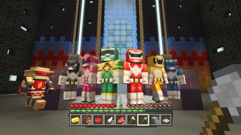 Minecraft New Glide Minigame And Power Rangers Skin Releasing - Skins para minecraft wii u