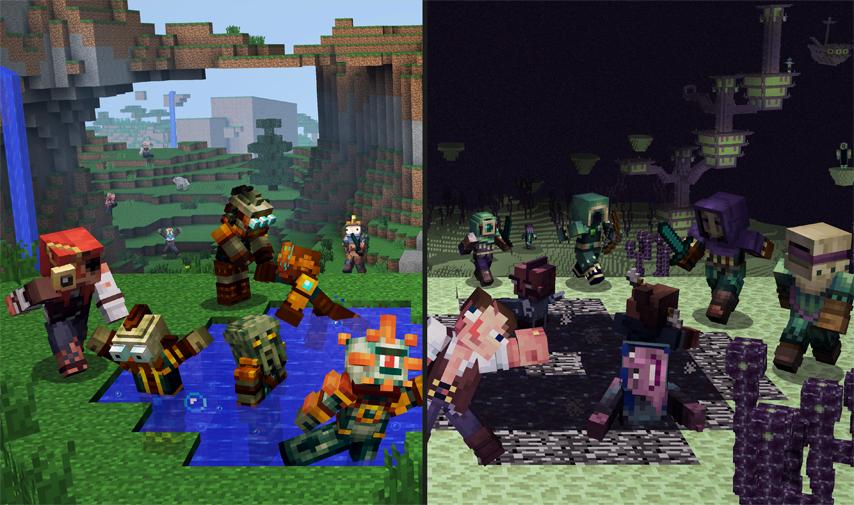 Minecraft Wii U Edition Getting Save Data Transfer To Minecraft - Skins para minecraft wii u edition