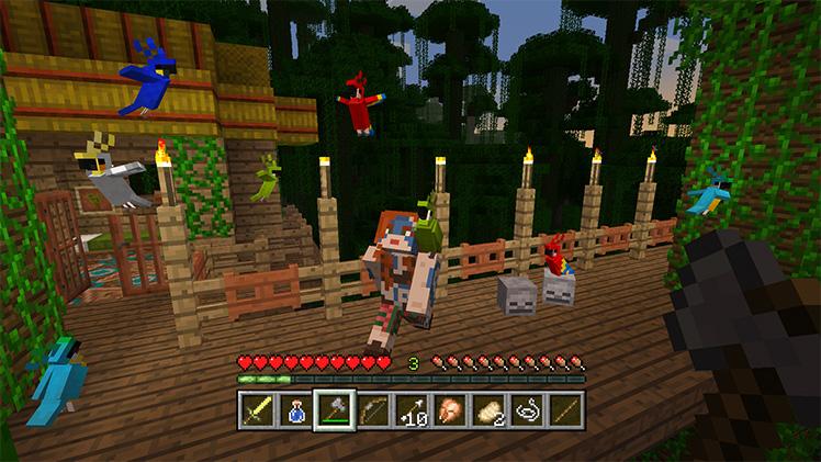 Minecraft Nintendo Switch Wii U Update Dlc Releasing