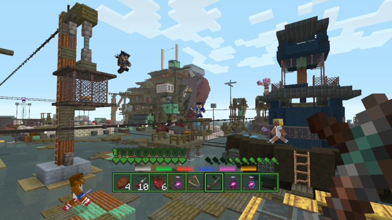 Minecraft: Wii U Edition - Details + screens for the Fallout Battle