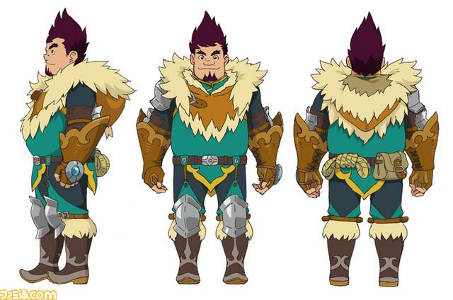 Monster Hunter Stories Website Update New Characters Otomon