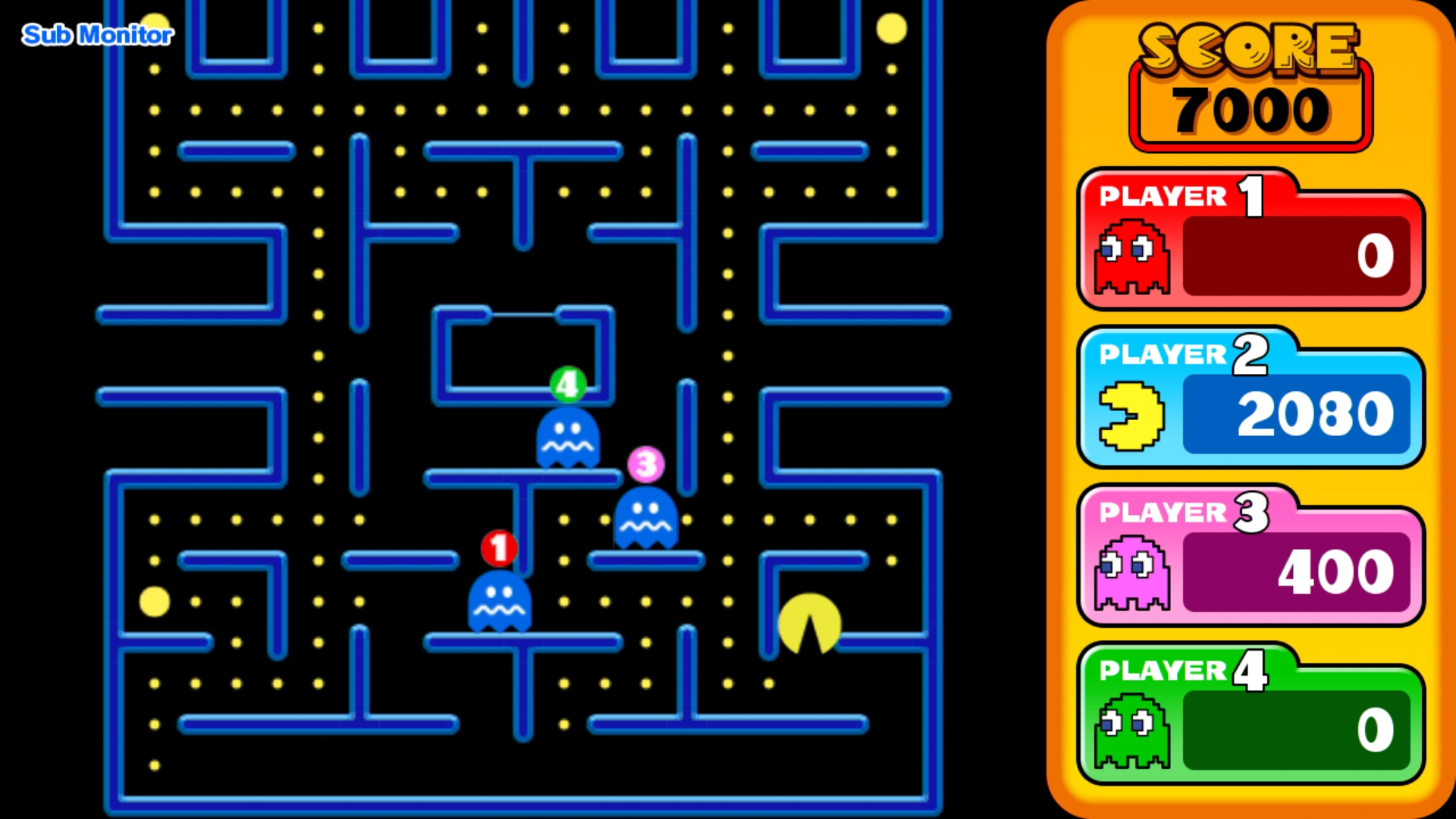 how to play pac man
