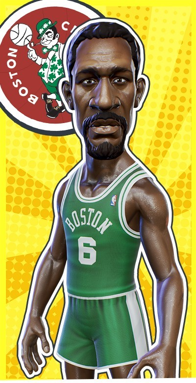 NBA Playgrounds: List Of Official Players