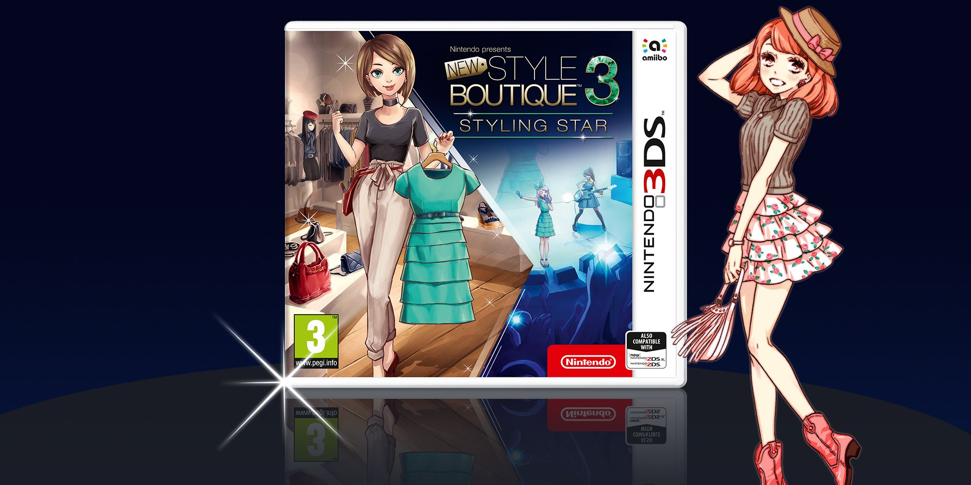 N,Direct] Nintendo Presents New Style Boutique 3 , Styling