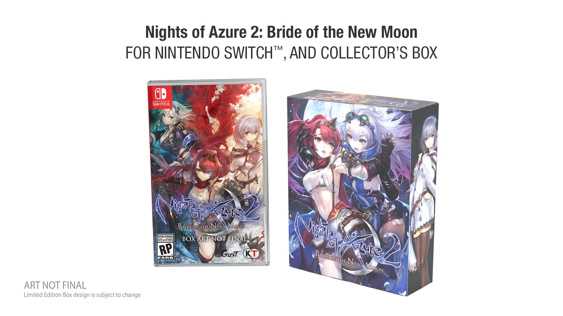 Nights Of Azure 2 Bride Of The New Moon Getting A Limited Edition