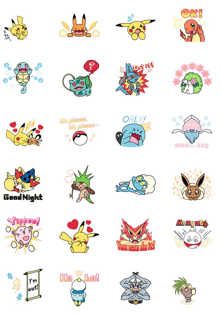 Daily briefs (Jan  7): animated Pokémon stickers on LINE, Splatoon