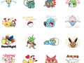 Pokemon stamps