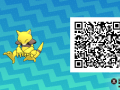 Pokemon Sun and Moon QR Codes (107)