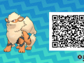 Pokemon Sun and Moon QR Codes (143)