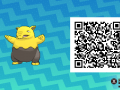 Pokemon Sun and Moon QR Codes (145)