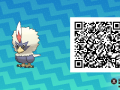 Pokemon Sun and Moon QR Codes (199)