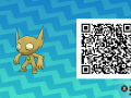 Pokemon Sun and Moon QR Codes (268)