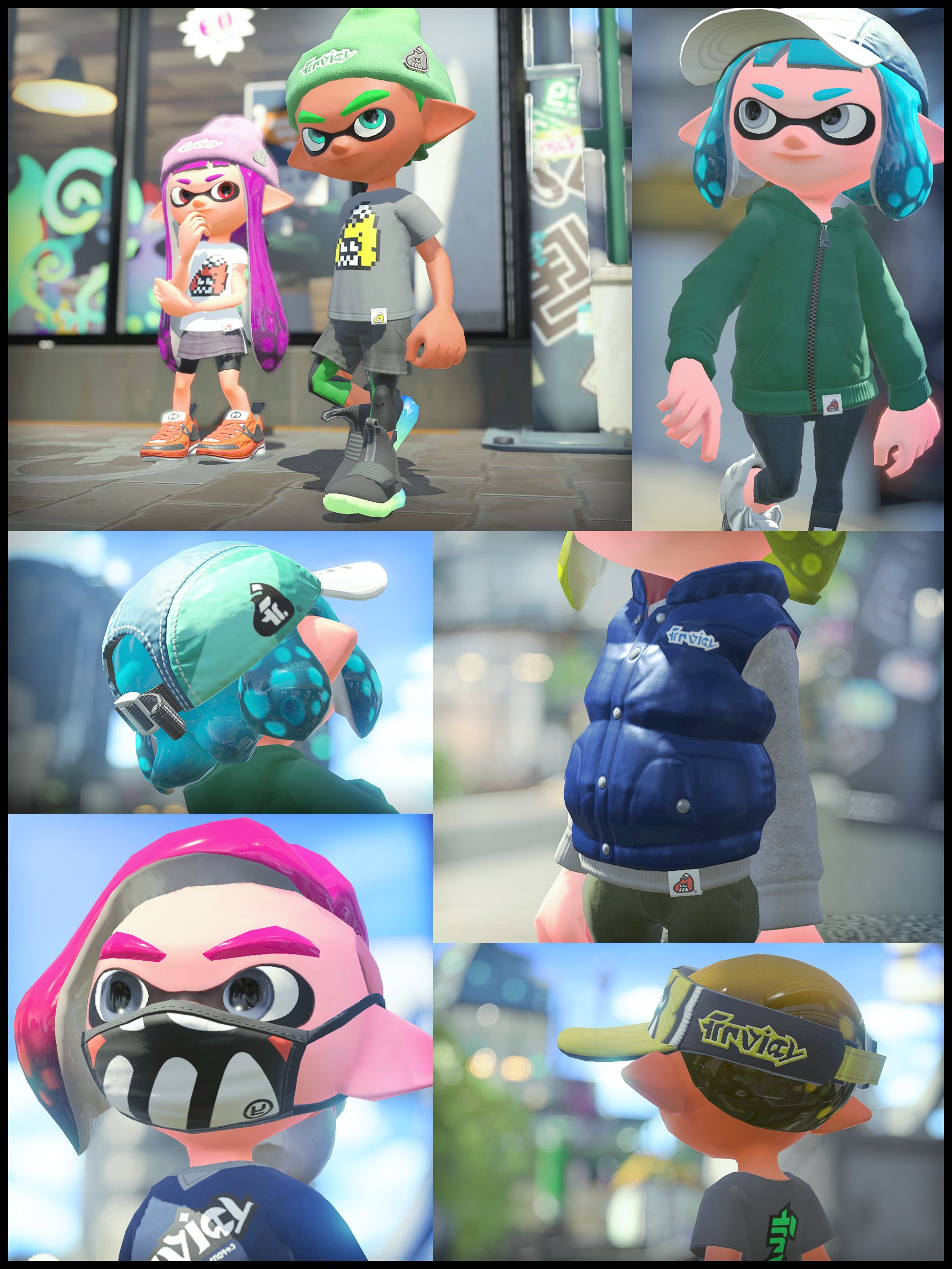 ... found in Splatoon 2. This street brand offers various classic-style  parkas and caps 241a9993e1b