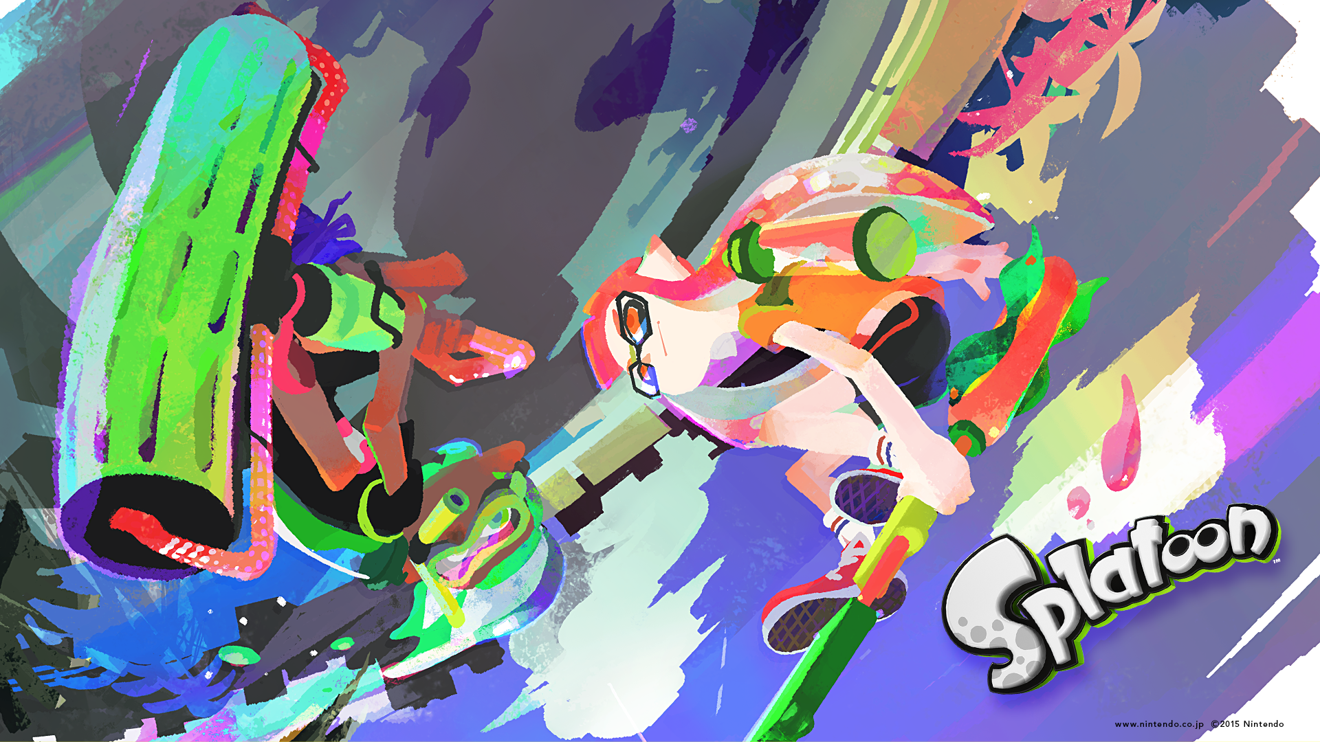 Splatoon: changelog for update 2.0.0; weapon video for the ...