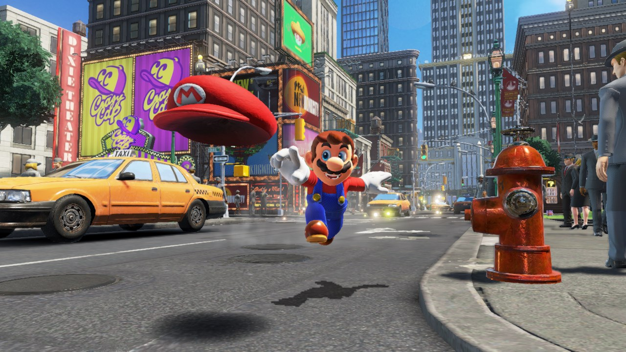 mario odyssey wallpaper hd
