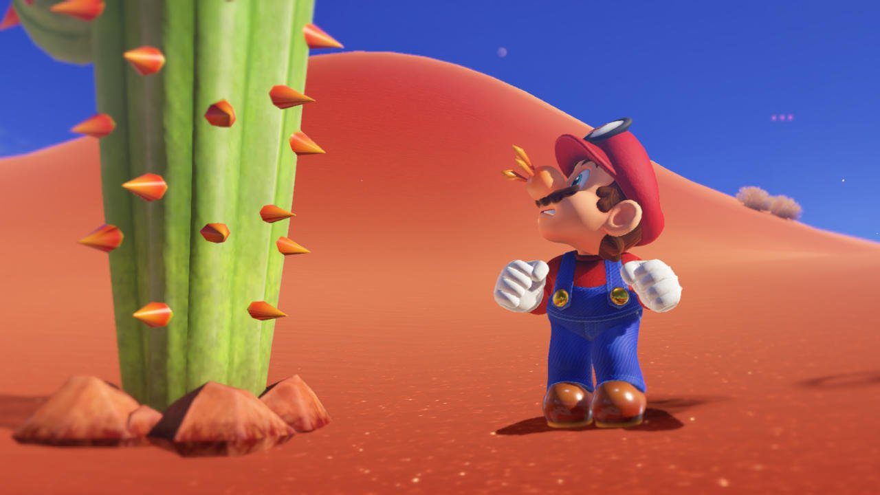 Super Mario Odyssey All The Details Pictures Gifs