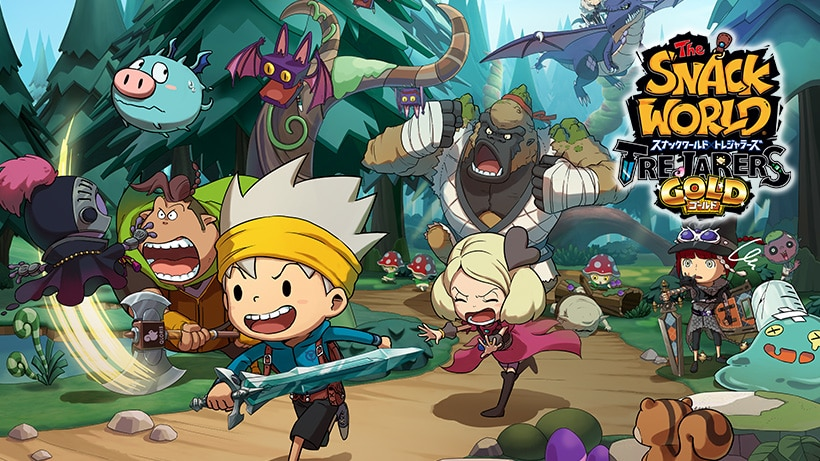 Daily Briefs (Feb  19) - Runner3 / The Snack World: Trejarers Gold
