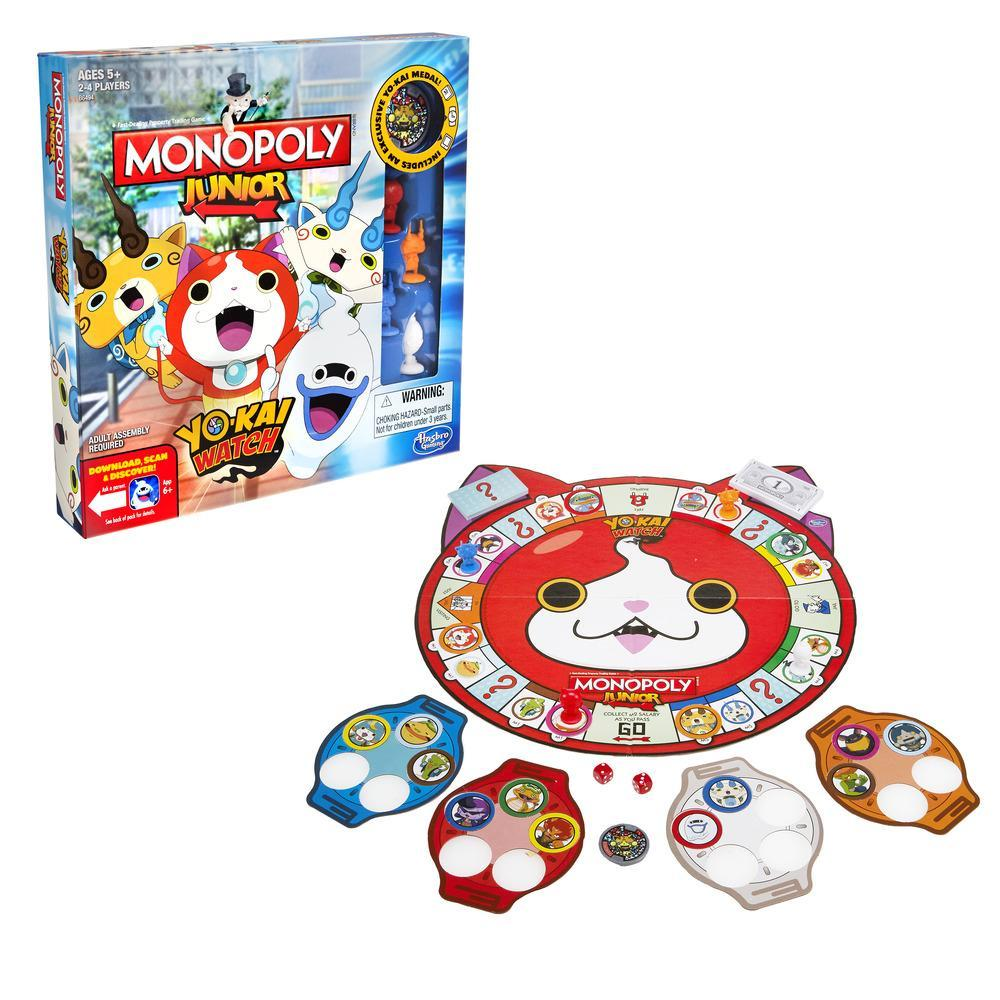 Yo Kai Watch Game Of Life And Monopoly Junior Coming Soon