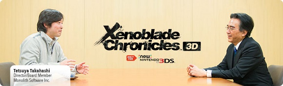 Xenoblade Chronicles 3D Iwata