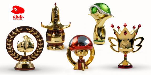 Club Nintendo Trophies
