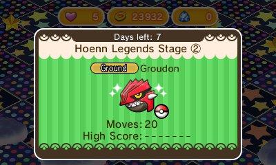Pokemon Shuffle Groudon 21.08.2015