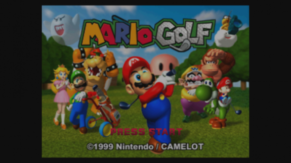 Europe] Mario Golf (N64) - Wii U Virtual Console Trailer and