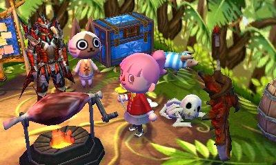 Animal Crossing: Happy Home Designer - Monster Hunter