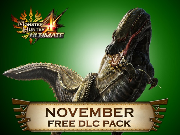 Monster Hunter 4 Ultimate November DLC Pack