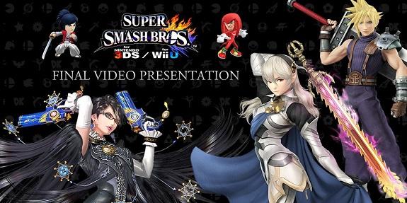 Super Smash Bros For Wii U 3DS