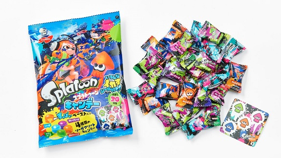 Splatoon candies
