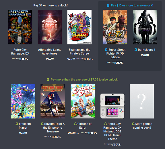 Humble Friends of Nintendo Bundle now available (Europe