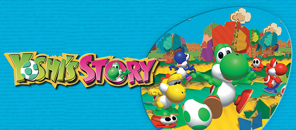 Europe] Yoshi's Story (N64) - Wii U Virtual Console Trailer