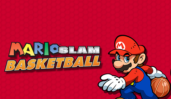 Mario Slam Basketall