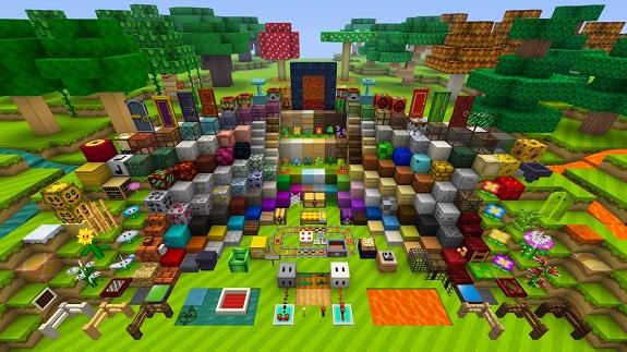 Minecraft Wii U Mario