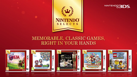 Nintendo Selects EU 3