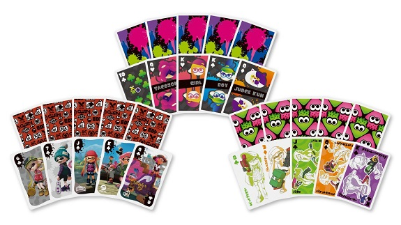 Splatoon cards