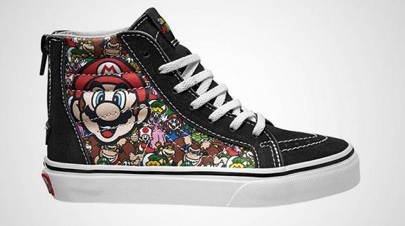 Super Mario Vans