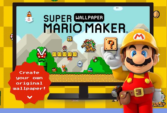 Super Mario Maker wallpaper