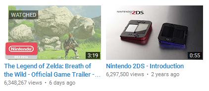 Zelda trailer