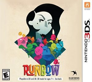 Runbow Deluxe Edition Box Art (Nintendo 3DS)