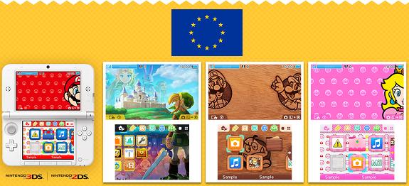 3DS Themes EU