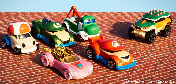 Super Mario Hot Wheels