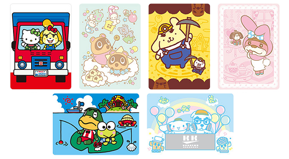 Animal Crossing amiibo cards Sanrio